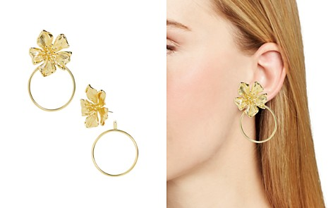 BAUBLEBAR Penthia Floral Loop Drop Earrings - Bloomingdale's_2