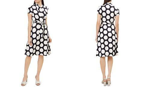 HOBBS LONDON April Polka Dot Wrap Dress - Bloomingdale's_2