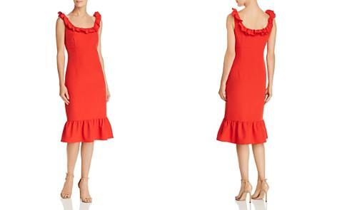 nanette Nanette Lepore Sleeveless Ruffle-Trim Dress - Bloomingdale's_2