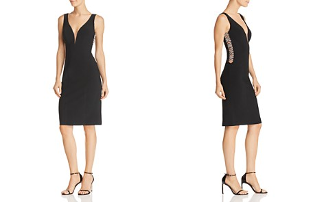 Avery G Embellished Illusion Dress - Bloomingdale's_2