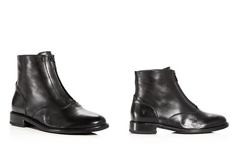 Frye Women's Kelly Waxed Leather Booties - Bloomingdale's_2