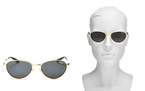 Vogue Eyewear Women's Gigi Hadid for Vogue Round Sunglasses, 53mm - Bloomingdale's_2