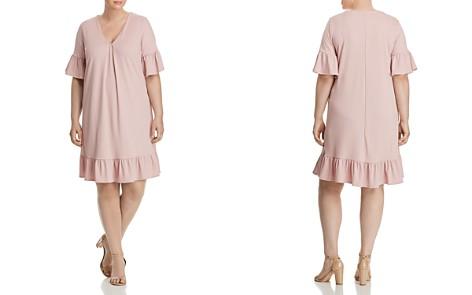 Lost Ink Ribbed Flutter Dress - Bloomingdale's_2