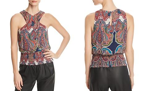 Ramy Brook Lorenza Paisley Silk Top - Bloomingdale's_2