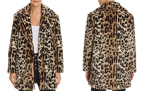 FRAME Leopard Print Faux Fur Coat - Bloomingdale's_2
