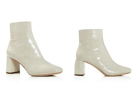 Loeffler Randall Women's Cooper Almond Toe Leather High-Heel Booties - Bloomingdale's_2