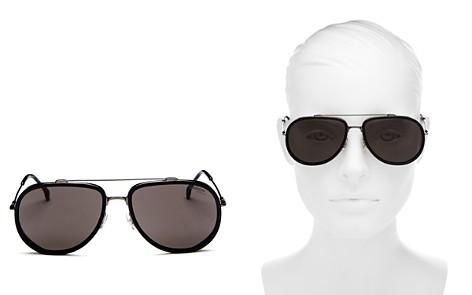 Carrera Women's Brow Bar Aviator Sunglasses, 59mm - Bloomingdale's_2