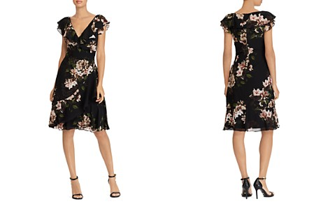 Lauren Ralph Lauren Floral Georgette Dress - Bloomingdale's_2