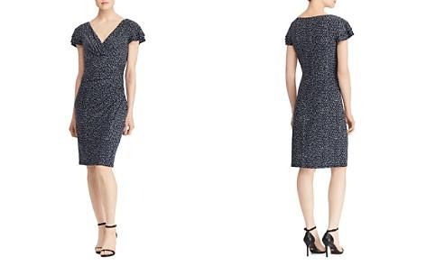 Lauren Ralph Lauren Petites Printed Flutter-Sleeve Dress - Bloomingdale's_2