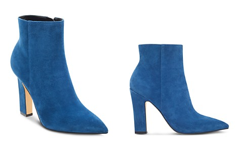 Marc Fisher LTD. Mayae Suede Pointed Toe High-Heel Booties - 100% Exclusive - Bloomingdale's_2