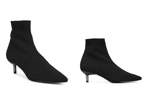Donald Pliner Women's Betti Pointed Toe Kitten Heel Sock Booties - Bloomingdale's_2