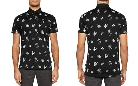 Ted Baker Midge Tropical Print Polo Shirt - Bloomingdale's_2