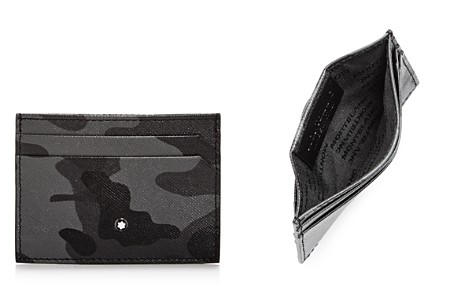 Montblanc Sartorial Camo Print Leather Card Case - Bloomingdale's_2