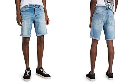 ALLSAINTS Isher Denim Shorts - Bloomingdale's_2