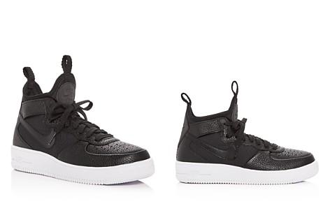 Nike Women's Air Force 1 Ultraforce Leather Mid Top Sneakers - Bloomingdale's_2