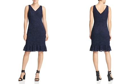 Donna Karan New York Sleeveless Lace Dress - Bloomingdale's_2