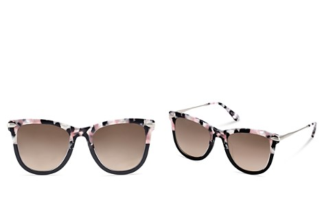 Krewe Simone Gradient Mirrored Square Sunglasses, 53mm - Bloomingdale's_2
