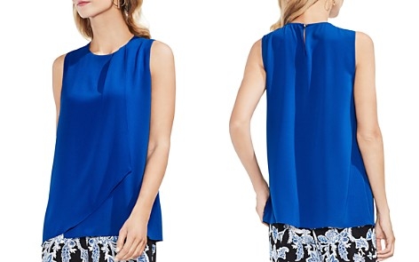 VINCE CAMUTO Sleeveless Overlay Top - Bloomingdale's_2
