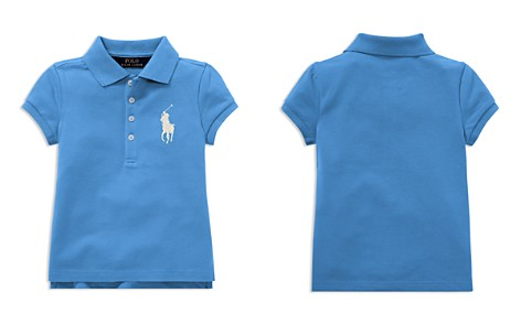 Polo Ralph Lauren Girls' Big Pony Stretch Polo - Little Kid - Bloomingdale's_2