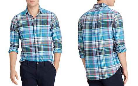Polo Ralph Lauren Polo Plaid Oxford Classic Fit Shirt - Bloomingdale's_2