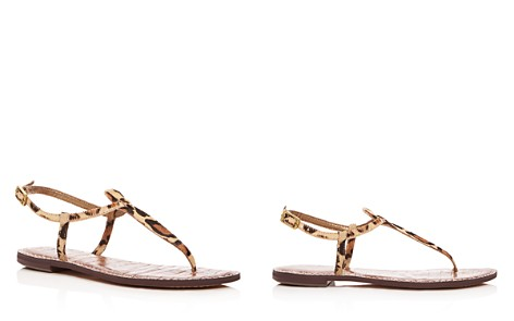 Sam Edelman Women's Gigi Leopard Print Calf Hair Thong Sandals - Bloomingdale's_2