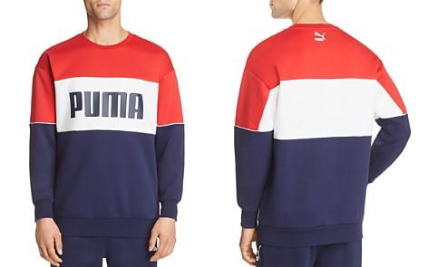 PUMA Retro Color-Block Logo-Print Sweatshirt - Bloomingdale's_2