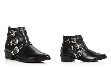 AQUA Women's Blane Studded Leather Western Booties - 100% Exclusive - Bloomingdale's_2
