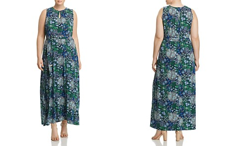 MICHAEL Michael Kors Plus Paisley Print Belted Maxi Dress - Bloomingdale's_2