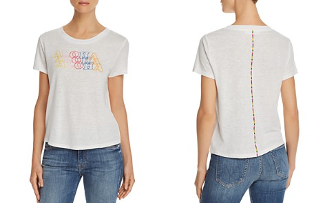 Honey Punch Aloha Embroidered Tee - Bloomingdale's_2