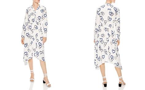Sandro Jerzy Heart-Motif Midi Dress - Bloomingdale's_2