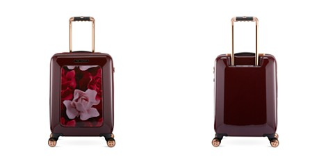 Ted Baker Woman's Porcelain Rose Small 4-Wheel Trolley - Bloomingdale's_2