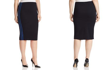 Marina Rinaldi Odografo Racing Stripe Skirt - Bloomingdale's_2