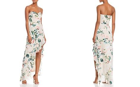 Amanda Uprichard Eden Burnout Asymmetric Maxi Dress - Bloomingdale's_2