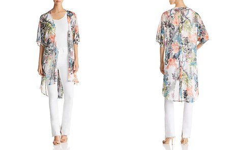 Status by Chenault Floral-Print Duster Kimono - Bloomingdale's_2