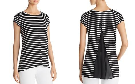 Kim & Cami Striped Contrast-Back Top - Bloomingdale's_2