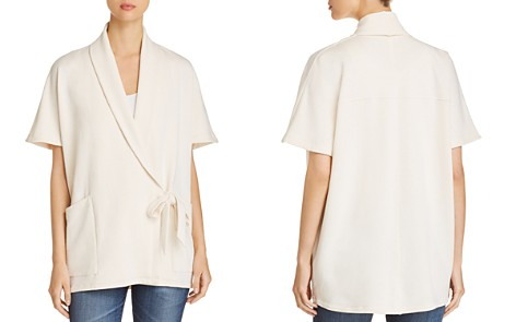 Eileen Fisher Draped Wrap Jacket - Bloomingdale's_2