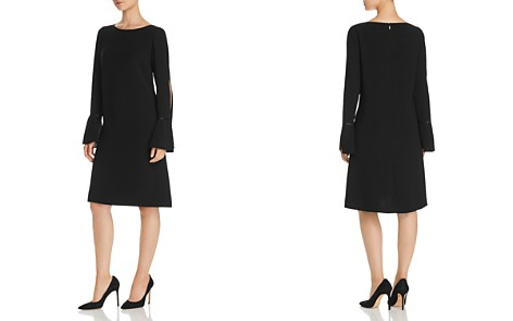 Lafayette 148 New York Jorie Slit Flare-Sleeve Dress - Bloomingdale's_2