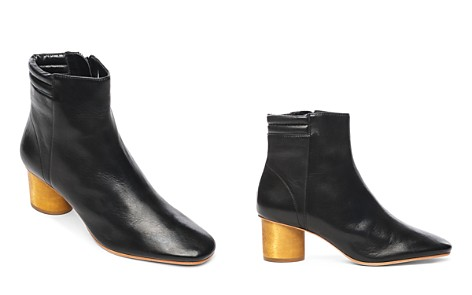 Bernardo Izzy Wood-Heel Leather Booties - Bloomingdale's_2