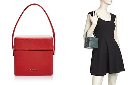 MATEO Catherine Mini Saffiano Leather Box Bag - Bloomingdale's_2