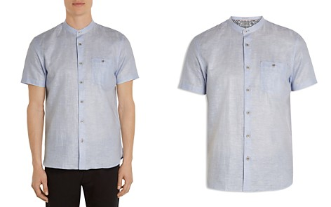 Ted Baker Selday Granddad Regular Fit Button-Down Shirt - Bloomingdale's_2