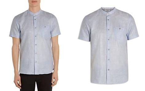 Ted Baker Selday Granddad Regular Fit Button-Down Shirt - Bloomingdale's_2