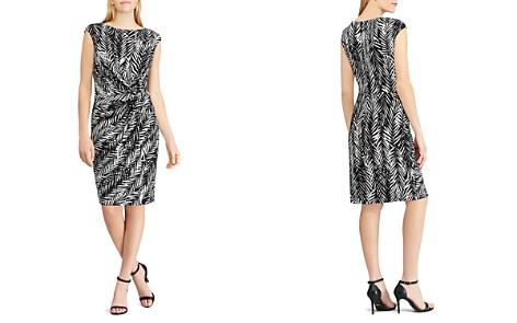 Lauren Ralph Lauren Petites Twist-Front Printed Jersey Dress - Bloomingdale's_2