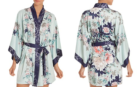 In Bloom by Jonquil Floral Kimono Robe - Bloomingdale's_2