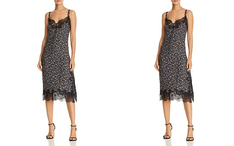 Rebecca Taylor Zelma Floral Silk Slip Dress - Bloomingdale's_2
