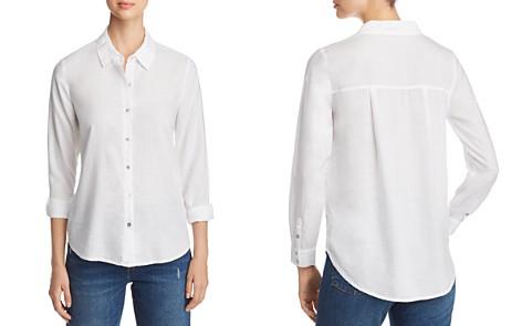 Eileen Fisher Petites Classic Collar Shirt - Bloomingdale's_2