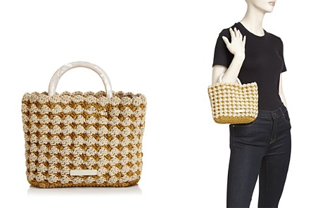 Loeffler Randall Audrey Small Woven Tote - Bloomingdale's_2