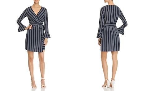 Vero Moda Nicky Striped Faux-Wrap Dress - Bloomingdale's_2