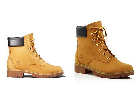 Timberland Women's Jayne Round Toe Waterproof Leather Boots - Bloomingdale's_2