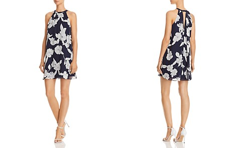 AQUA Floral Print Swing Dress - 100% Exclusive - Bloomingdale's_2