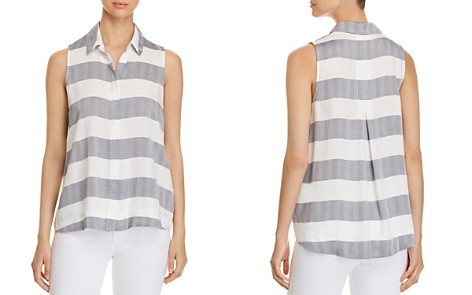 Cupio Collared Striped Button-Down Top - Bloomingdale's_2